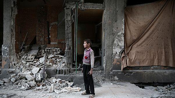 Siria, immagini dell'avanzata dell'esercito regolare siriano ad Aleppo est