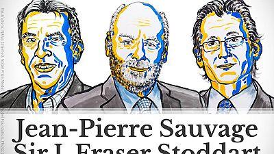 """Nobel da Química para três investigadores em """"nano-máquinas"""""""