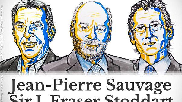 Le prix Nobel de chimie décerné à trois Européens dont un Français, J-P. Sauvage