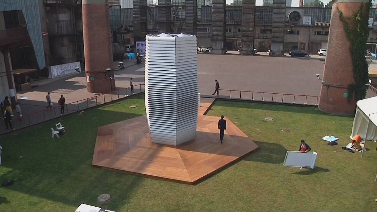 Giant 'vacuum cleaner' could fight pollution