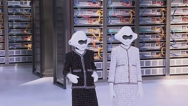 Fashion meets big data at Chanel show in Paris