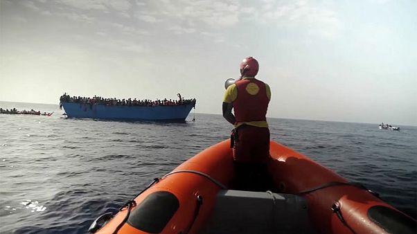 Italia: la Guardia Costera ha rescatado a 11.000 migrantes norteafricanos en 48 horas