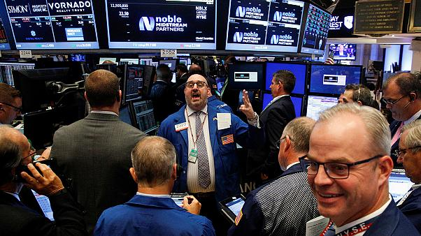 Wall Street boosted by higher oil prices, European markets mostly down