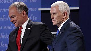 US-Wahlkampf: Hitziges TV-Duell zwischen Kaine und Pence