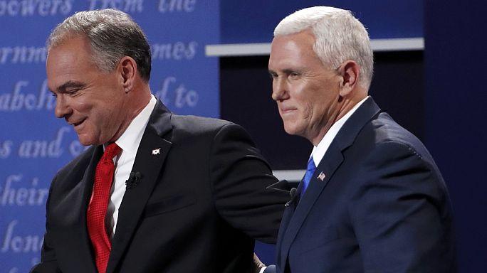 Braço-de-ferro entre os 'vices' de Clinton e Trump