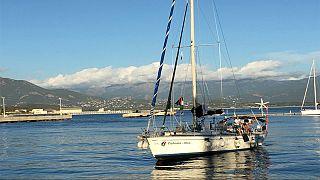 يورونيوز تجري حديثا حصريا مع النائب في البرلمان الجزائري، سميرة ضوايفية قبل اعتراض سفينة زيتونة من البحرية الإسرائيلية