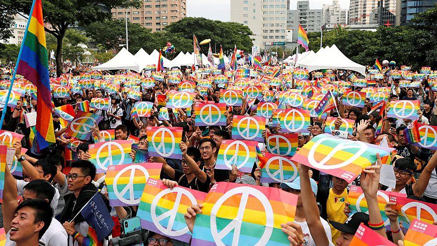 Image: Taiwan Same Sex Marriage