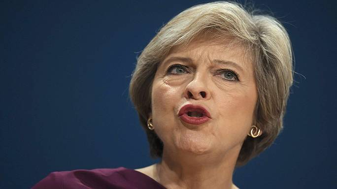 UK's May looks to post-Brexit Britain