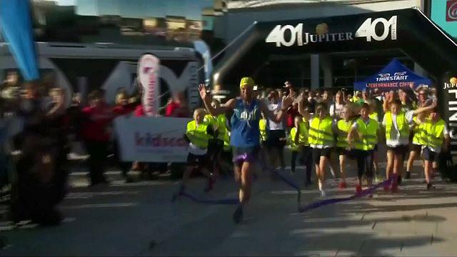 El Forrest Gump británico: 401 maratones en 401 días