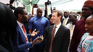 Le patron de Facebook célèbre un jeune Nigérian créateur d'une plateforme en ligne
