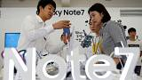 Replacement Samsung Galaxy Note 7 catches fire on plane