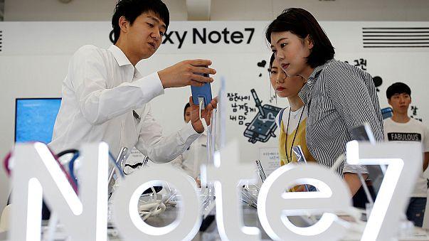 Geri çağrılan Galaxy Note 7'nin yeni serisinde de aynı sorun