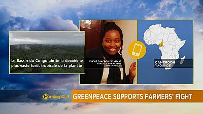 Greenpeace soutient les fermiers camerounais [The Morning Call]