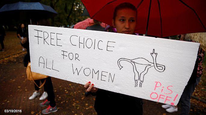 Polonya'da kadınların zaferi