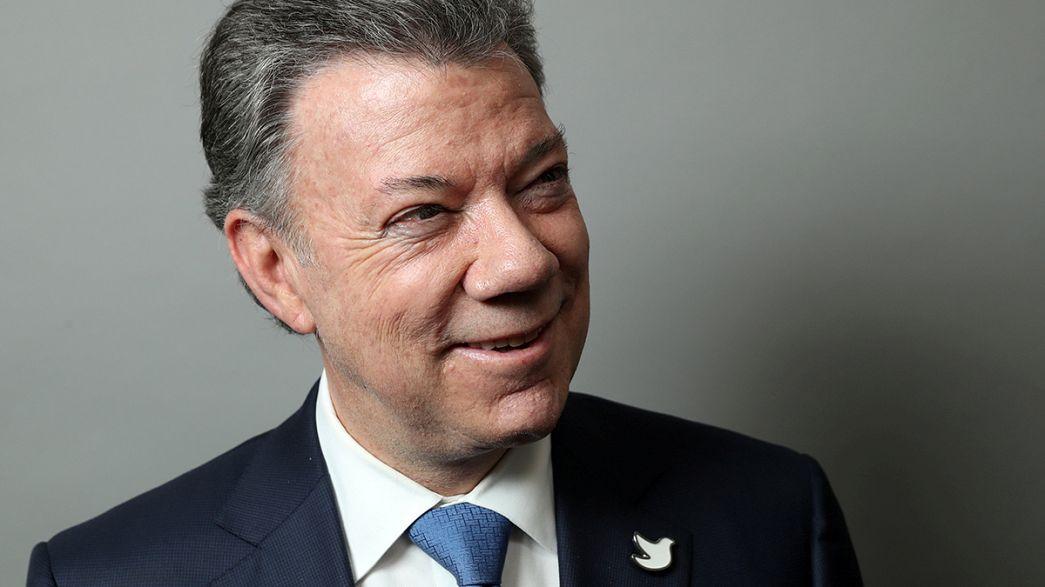 Nobel da Paz 2016 atribuído a presidente da Colômbia