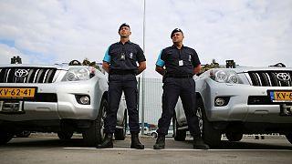 Les gardes-frontières européens patrouillent en Bulgarie