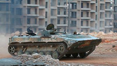 Syrian army tightens grip on the besieged city of Aleppo