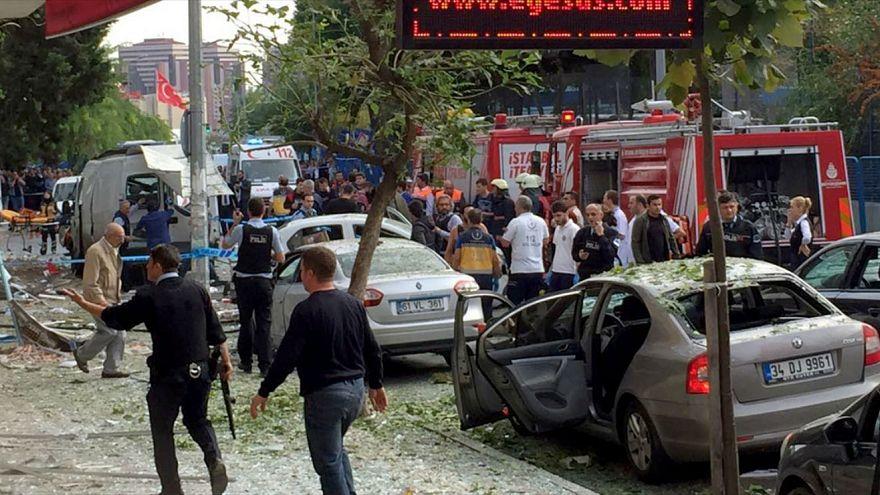 Mota armadilha explode em Istambul
