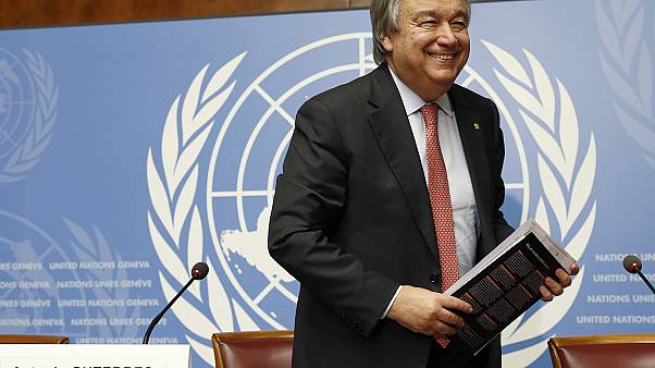 آنتونیو گوترش، گزینه شورای امنیت برای دبیرکلی سازمان ملل متحد