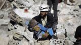 Suriye'nin isimsiz kahramanları: Beyaz Miğferler