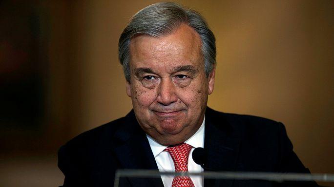 """Antonio Guterres, futur patron de l'ONU, """"au service des plus vulnérables"""""""