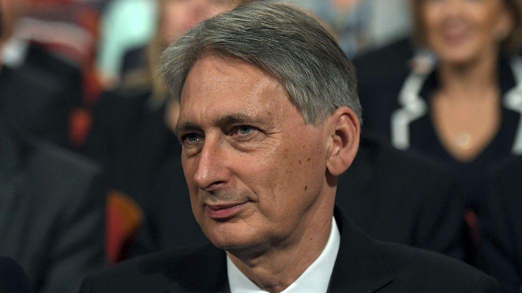 """Brexit: Hammond a Wall Street rassicura i mercati """"Londra manterrà leadership"""""""