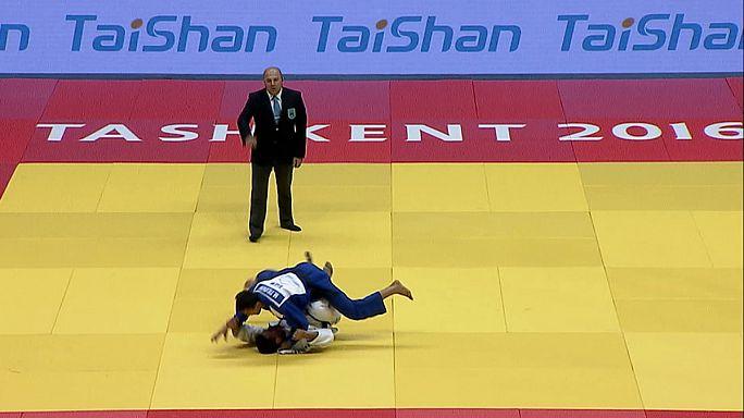 Taşkent Judo Grand Prix'inde madalyalar Özbeklerin
