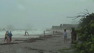L'ouragan Matthew s'approche de la Floride