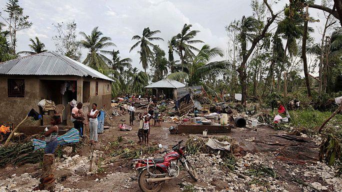 إعصار ماثيو يخلف 339 قتيلا على الأقل في هايتي