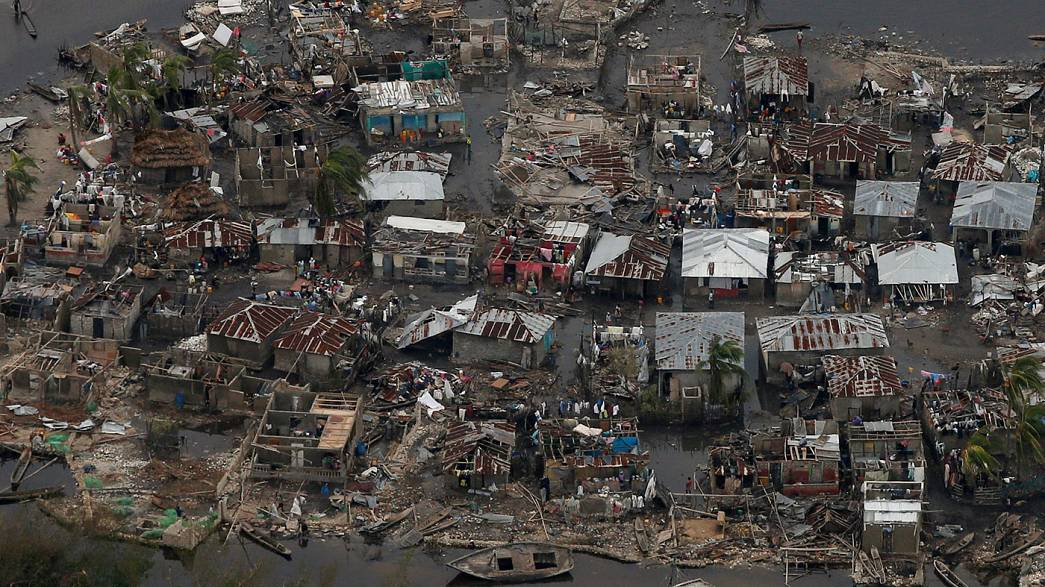 Caraibi: più di trecento le vittime dell'uragano Matthew. Haiti paga il prezzo più alto