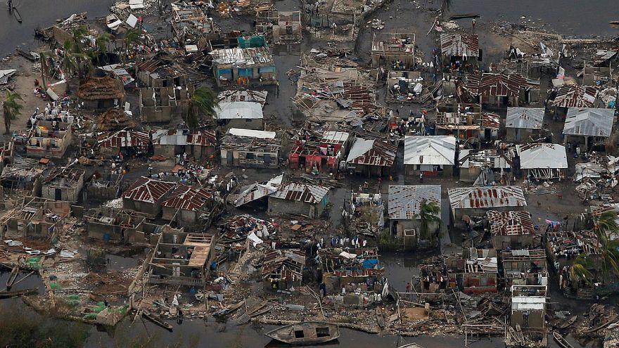 Végitarolt Haitin a Matthew hurrikán