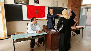 Moroccans voting in legislative elections
