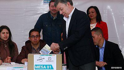 "Colômbia: Nobel ajudará a ultrapassar ""obstáculo"" do referendo ao acordo de paz?"