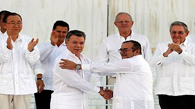 Nobel Peace Prize 2016 awarded to Colombian president