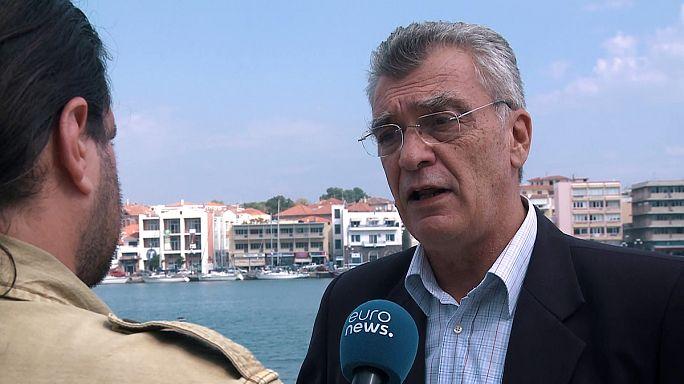 Tensions entre habitants de Lesbos et migrants
