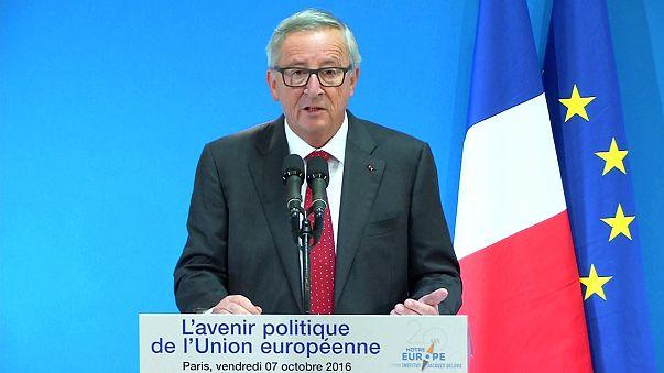 """Juncker sur le TTIP: """"On ne doit pas se couper du reste du monde"""""""