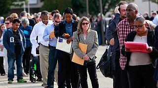 EUA: Emprego cresce menos do que o esperado