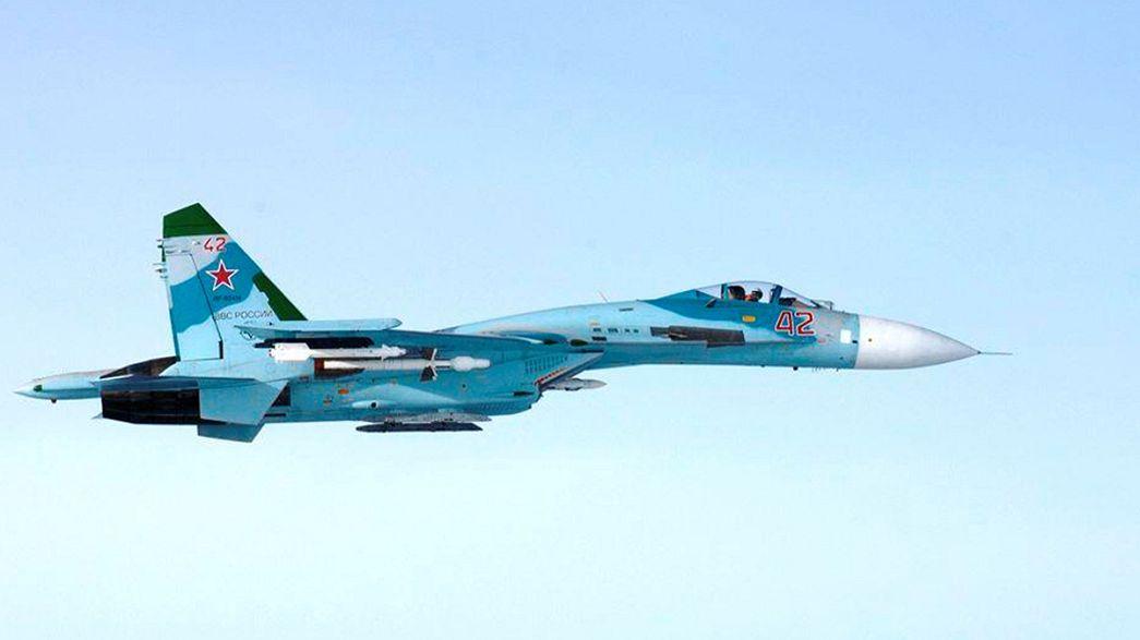 Bombareros rusos en cielos europeos