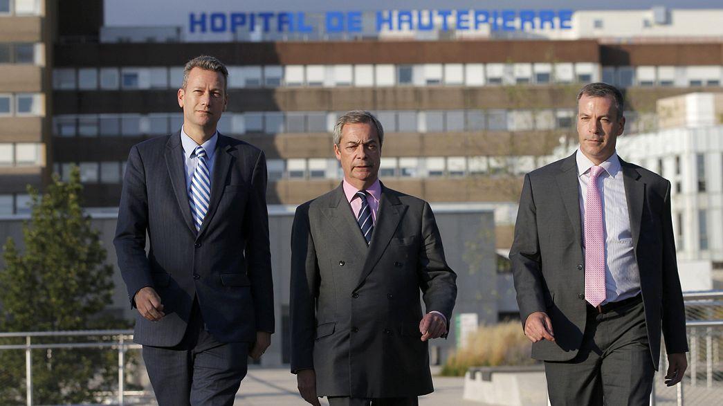 UKIP, le feuilleton : après l'altercation, réconciliation en vue