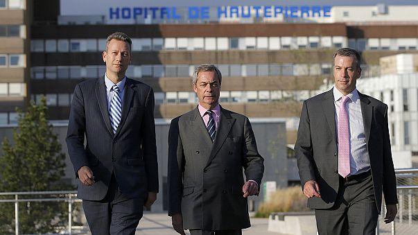 'A very regrettable matter': UKIP members face probe after bust-up