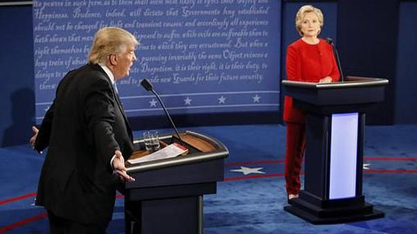 Trump and Clinton trade insults in bitter presidential debate