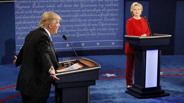 Clinton e Trump jogam ao ataque no segundo debate