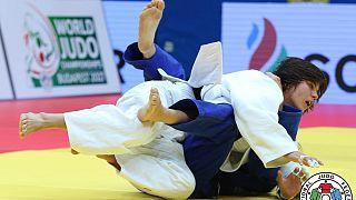 Home Judokas continue impressive display on day two of Tashkent Grand Prix