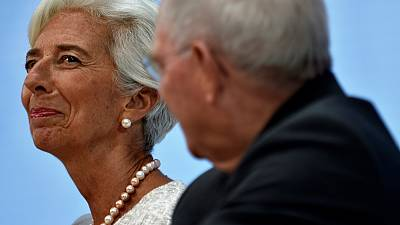 Germany's Schaeuble backs IMF over 'ultra-loose' monetary policy warning