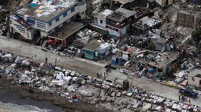 """Hurrikan-Opfer in Haiti leiden: """"Wir müssen mit den Kindern auf der Straße schlafen"""""""