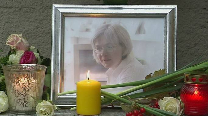 Calls for justice 10 years after murder of Russian journalist Anna Politkovskaya