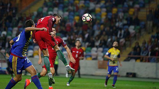 Portugal faz história com goleada frente a Andorra