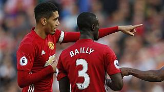 Man Utd's Ivorian international Bailly taking English lessons