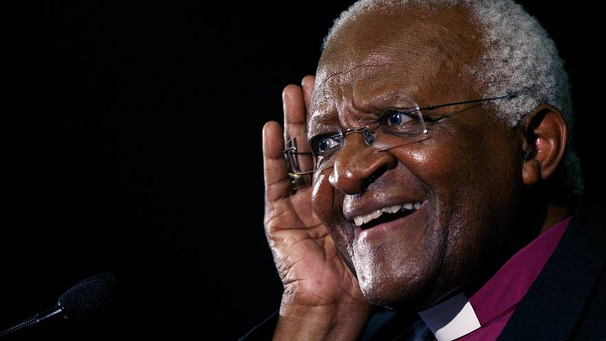 Archbishop Desmond Tutu turns 85 saying he wants 'assisted death'