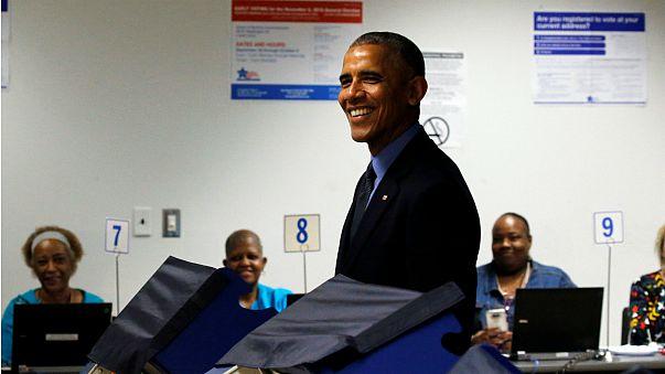 Usa: Obama ha già votato per le Presidenziali